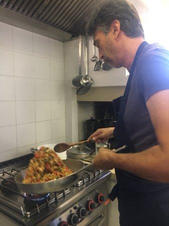Montegabbione, Włochy: Gianluca's cooking demonstration