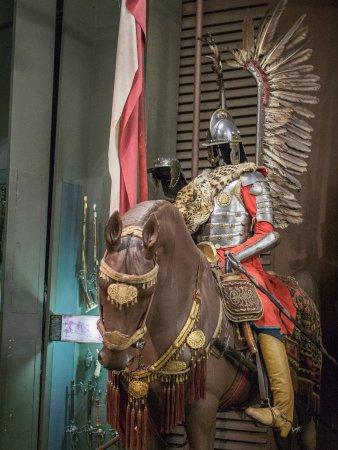 Polish Army Museum (Muzeum Wojska Polskiego): Winged Hussar battle gear