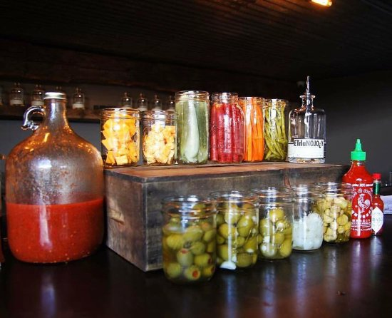Elk Rapids, MI: Bloody Mary Bar Every Sunday 10-2 at Ethanology.