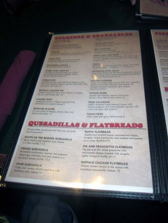 Warminster, PA: Menu