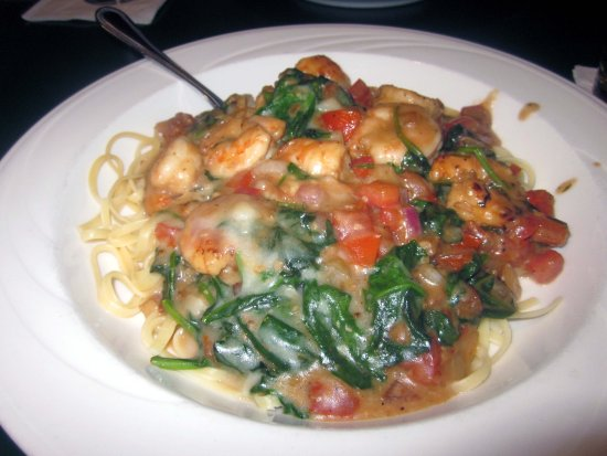 "Warminster, PA: Shrimp & Spinach ""Scampi"""
