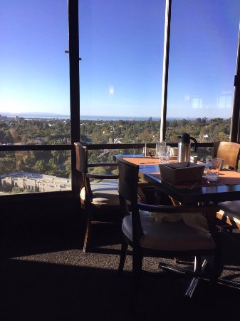 Hotel Angeleno: view from the restaurant