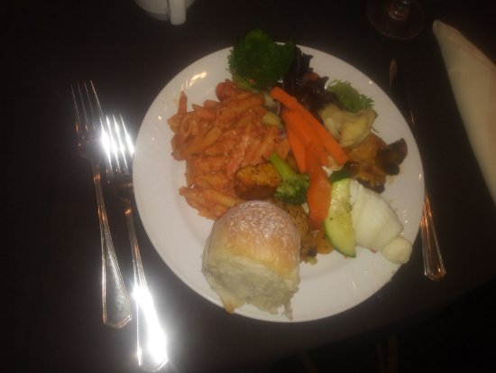 Parsippany, NJ: From a buffet selection at the Sheraton
