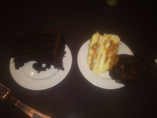 Parsippany, NJ: From dessert buffet at Sheraton