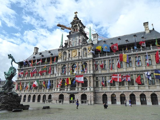 Antwerp City Hall Foto Town Hall Stadhuis Antwerpen Tripadvisor