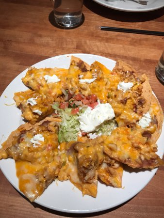 Thornton, CO: Chicken Nachos from the appetizer list