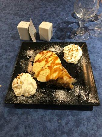 Ile de Crete : Baklava à la glace vanillée