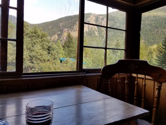 Bellvue, CO: Screened Porch Rustic 6 Cabin