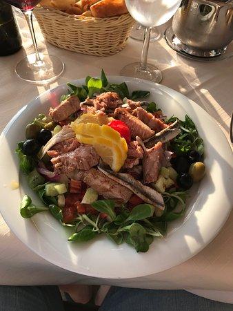 Podstrana, Croacia: Big size salad