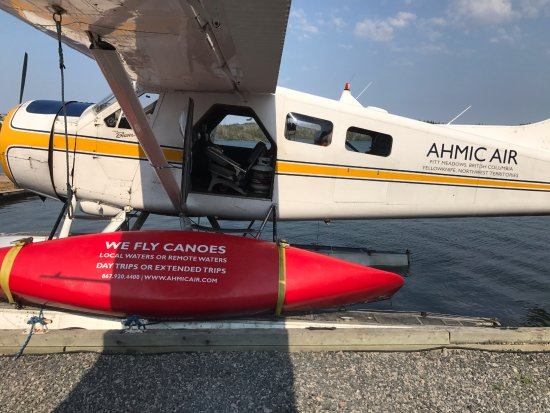 Yellowknife, Canadá: We fly canoes, let Ahmic Air be the start of your canoeing adventure!