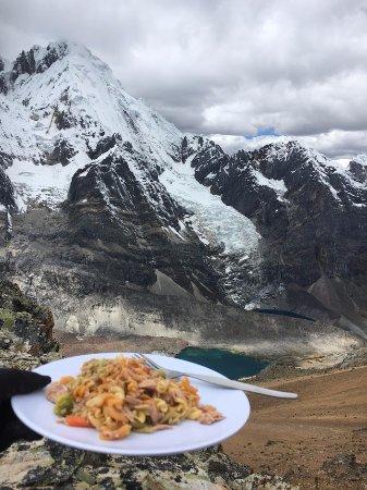 Ancash Region, Peru: Pasta at 5000+ meters! Cerro Gran Vista