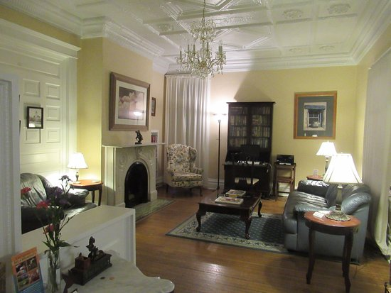 Bottger Mansion of Old Town: Living/gathering room