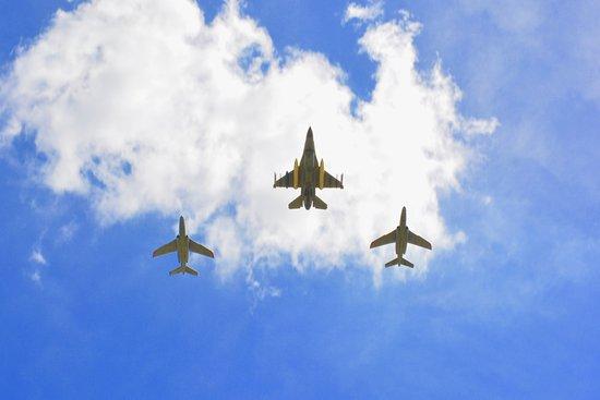 Vliegshow t.b.v. 50 jaar NATO in Geilenkirchen.