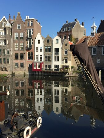 Delfshaven: Beautiful old houses