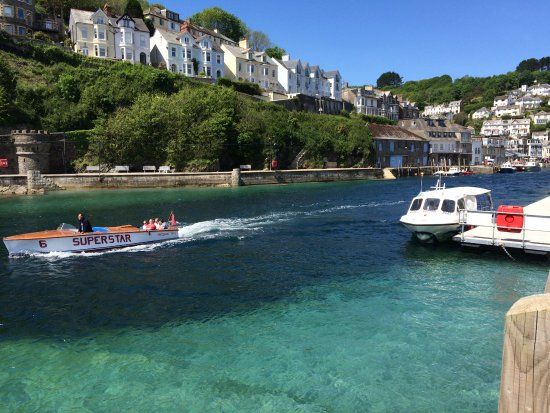 Widegates, UK: Looe river (7 minutes drive from ETF)