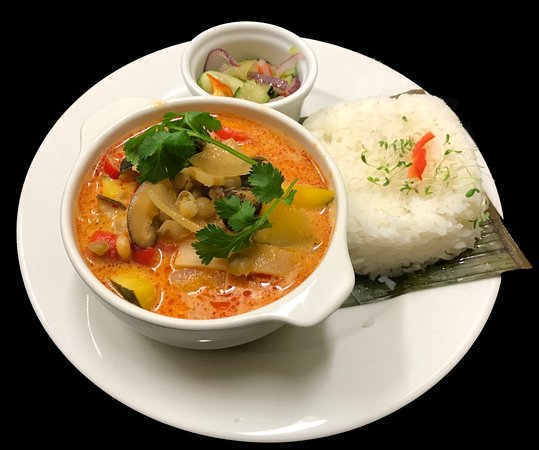 Curry Rojo – Red Curry (Kaeng Phet)