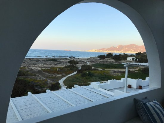 Villa Marandi Luxury Suites: One of the best views we had from our room in all of Greece.