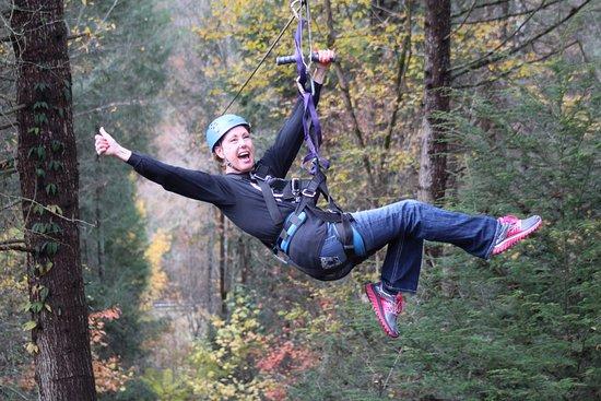 Foxfire Mountain Adventures: Zip Line fun at Foxfire Mountain