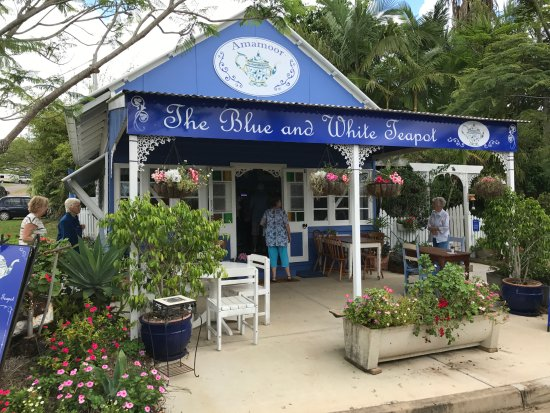 The Blue and White Teapot Cafe: Blue & White Teapot