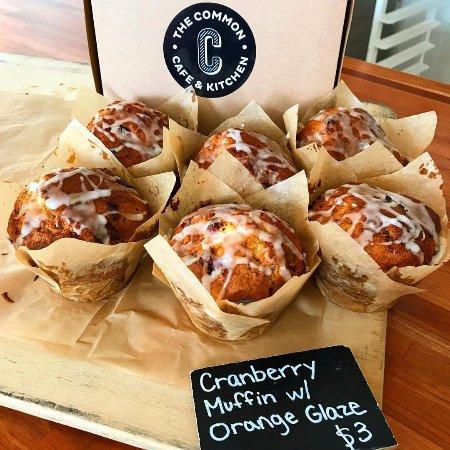 Natick, MA: cranberry muffins