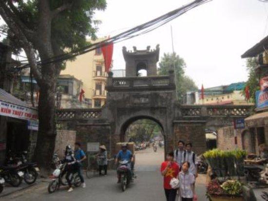 Old City Gate: 溶け込む