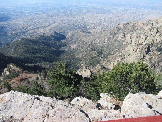 Sandia Peak Tramway: View from 10,300+ feet