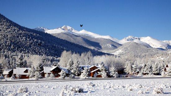 Winter at Rams Horn Village Resort
