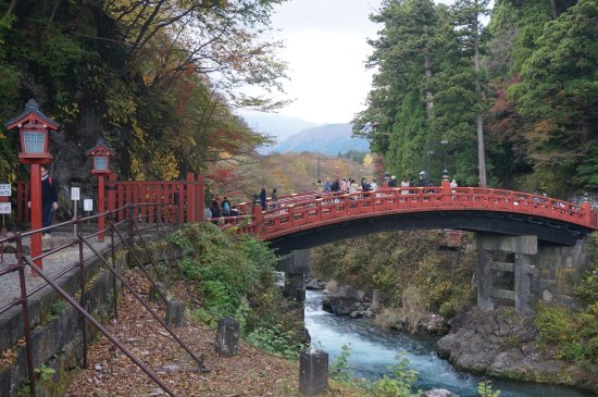 Shinkyo: Bridge over rapid waters