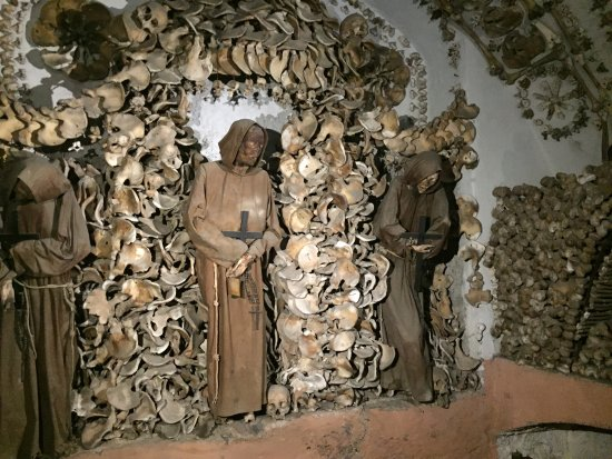 Museum and Crypt of Capuchins: so many bones