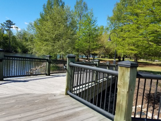 Conway, SC: walking deck view