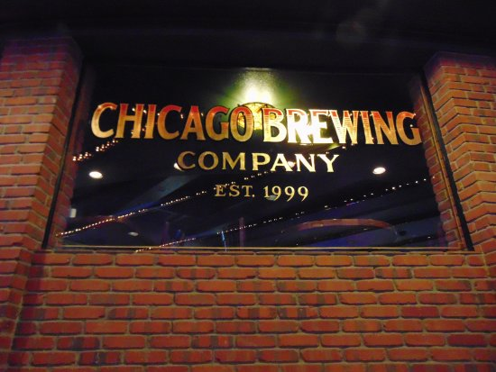 Chicago Brewing Company : front sign
