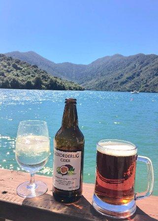 Endeavour Inlet, Nya Zeeland: Boatshed Bar