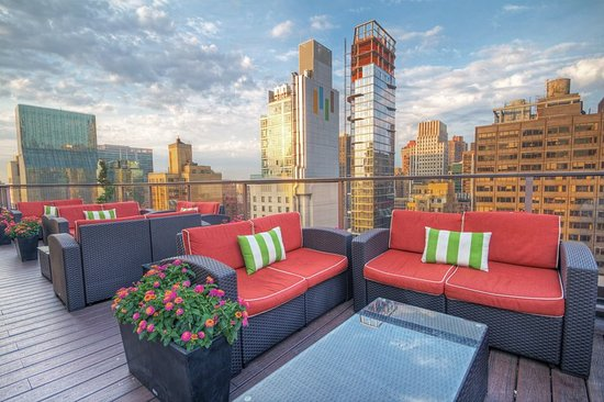wyndham midtown 45 at new york city patio picture of. Black Bedroom Furniture Sets. Home Design Ideas
