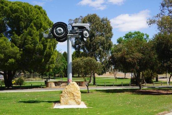 Ferguson Tractor Monument