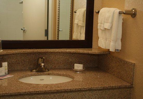 Morgantown, Virginia Occidental: Suite Bathroom