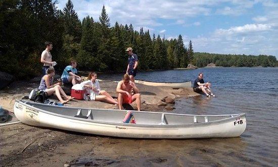 Stone Ridge, NY: Canoeing in Algonquin National Park