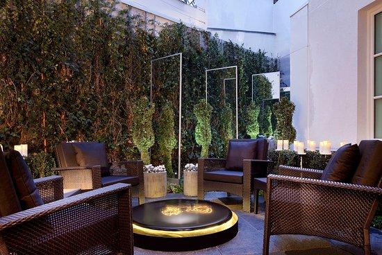 Winter garden obr zek za zen h tel les jardins de la for Les jardins de la villa 5 rue belidor 75017 paris