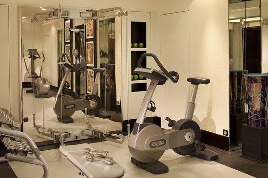 Fitness room obr zek za zen h tel les jardins de la for Les jardins de la villa paris tripadvisor