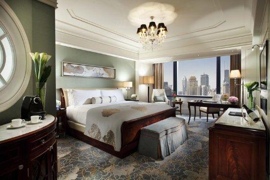 Waldorf Astoria Shanghai on the Bund: WA King Deluxe City Room