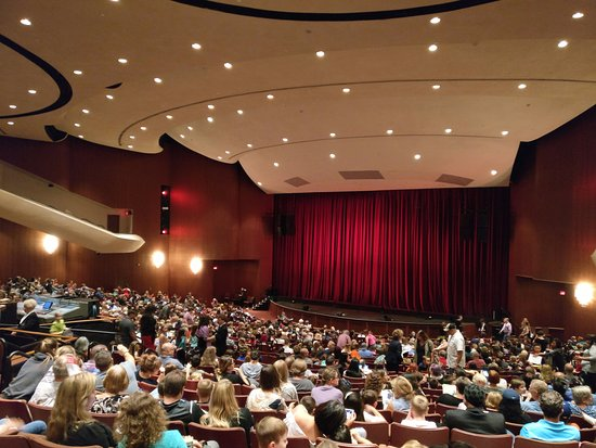 Chandler Center for the Arts: inside the Auditorium