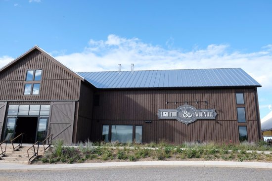 Wolfville, Canadá: newly opened winery 2017