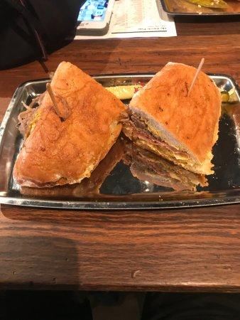 Waltham, MA: Cuban sandwich