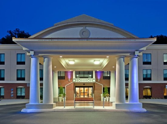 Harriman, TN: Hotel Canopy at Night