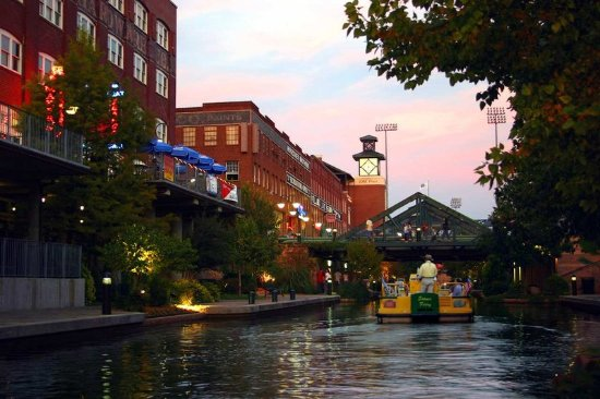 Homewood Suites by Hilton Oklahoma City-West: Bricktown Canal at Sunset