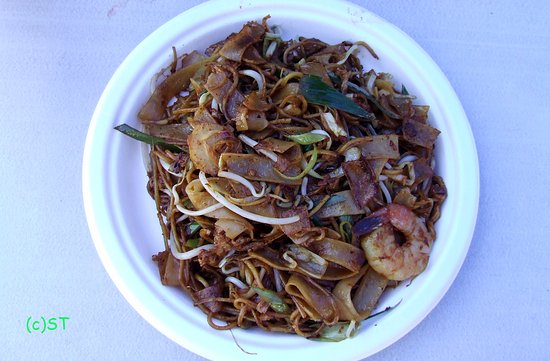 Malaysia Delights Street Food: Penang Kweh Teow & egg noodle