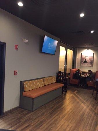 Dartmouth, MA: bench, tv, & booth