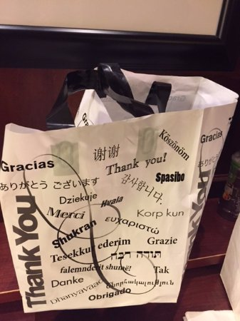 Dartmouth, MA: Takeout bag.