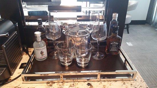 Burswood, Australia: $35 for a 200ml bottle of jacks . . .ouch!!!