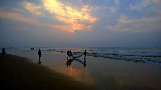 Paradeep, Inde : sunrise