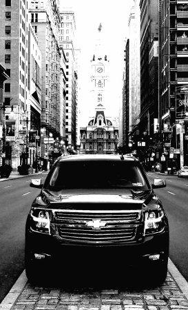 Philadelphia, PA: Cartier Black Limousine
